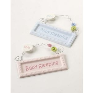 Baby Sleeping Sign DISCONTINUED WAS £3.00